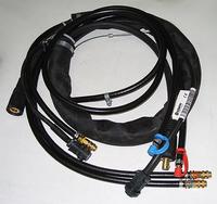 Промежуточный соединительный кабель-жгут PROMIG 2/3 70-25-WH, Kemppi, 6260339