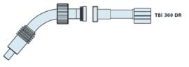 Tbi Корпус горелки 360 DR, 45°