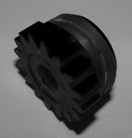 Подающий ролик 2,4, черный, с насечкой, Kemppi, 3134030