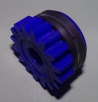 Подающий ролик, 3.2, синий, с насечкой,SL-500, Kemppi, 3134060