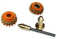 Комплект роликов к проволокоподающему устройству SS (FE,CU) V1.2 GT02 KIT №1, Kemppi, F000244