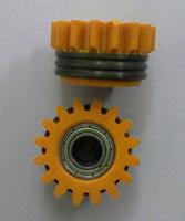 Подающий ролик 1,6/1,6, трапецеидальный U, желтый, Kemppi, 3142200