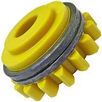 Подающий ролик приводной V70°1,6/1KFM2/4, желтый, Kemppi, W001051