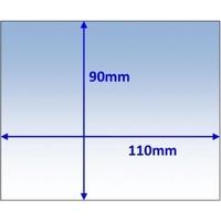 Внутреннее брызгозащитное стекло (поликарбонат) 90х110х1,5, Beta 90, Kemppi, 9873254
