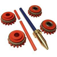 Комплект роликов к проволокоподающему устройству SS (FE,CU) V1.0 DURATORQUE KIT №2, Kemppi, F000230