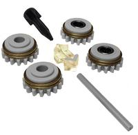 Комплект роликов к проволокоподающему устройству SS (FE,CU) V0.6 GT04 KIT №1, Kemppi, F000252