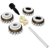 Комплект роликов к проволокоподающему устройству SS (FE,CU) V0.8-0.9 GT04 KIT №1, Kemppi, F000253