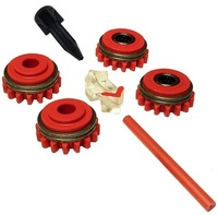 Комплект роликов к проволокоподающему устройству SS (FE,CU) V1.0 GT04 KIT №1, Kemppi, F000254