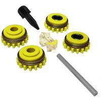 Комплект роликов к проволокоподающему устройству SS (FE,CU) V1.6 GT04 KIT №1, Kemppi, F000257