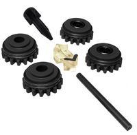 Комплект роликов к проволокоподающему устройству SS (FE,CU) V2.4 GT04 KIT №1, Kemppi, F000259