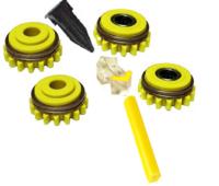 Комплект роликов к проволокоподающему устройству AL 1.6 WFS GT04 №1, Kemppi, F000275