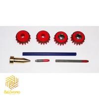 Комплект ролики к проволокоподающему устройству MC/FC VK1.0 DURATORQUE KIT №2, Kemppi, F000232