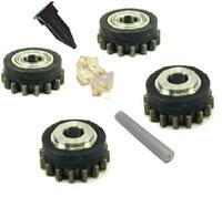 Комплект роликов к проволокоподающему устройству SS (FE) V0.8-0.9 HD GT04 KIT №1, Kemppi, F000338