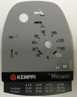 Наклейка на переднюю панель Minarc-150, Kemppi, 4305460