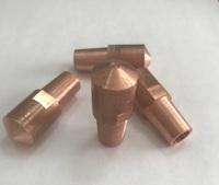 Прямой электрод для точечной сварки PCP/PTE, L=45, D18, 690035