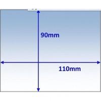 Брызгозащитное стекло (поликарбонат) 90х110х1 мм, Beta 90, Kemppi, 9873253