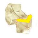Направляющая трубка средняя 1.6/33 YE PLASTIC, Kemppi, SP007278 (W007278)