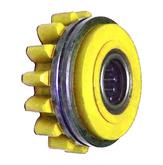 Подающий ролик прижимной V70°1,6/2KFM2/4, желтый, Kemppi, W001052