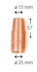 Газовое сопло X8 200-G, 300-G, Kemppi, W011478